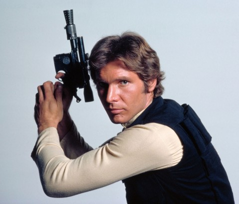 Han Solo With Blaster Star Wars