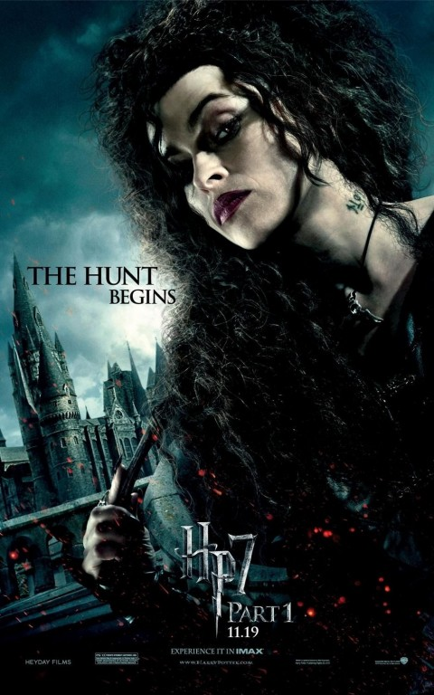 Harry Potter And The Deathly Hallows Part Movie Poster Bellatrix Movie