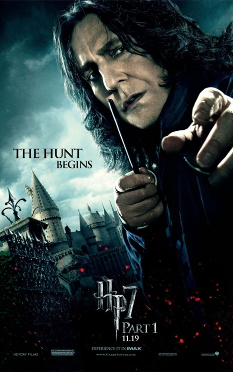 Harry Potter And The Deathly Hallows Part Poster Movie