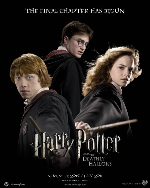 Harry Potter Deathly Hallows Movie Poster Movie