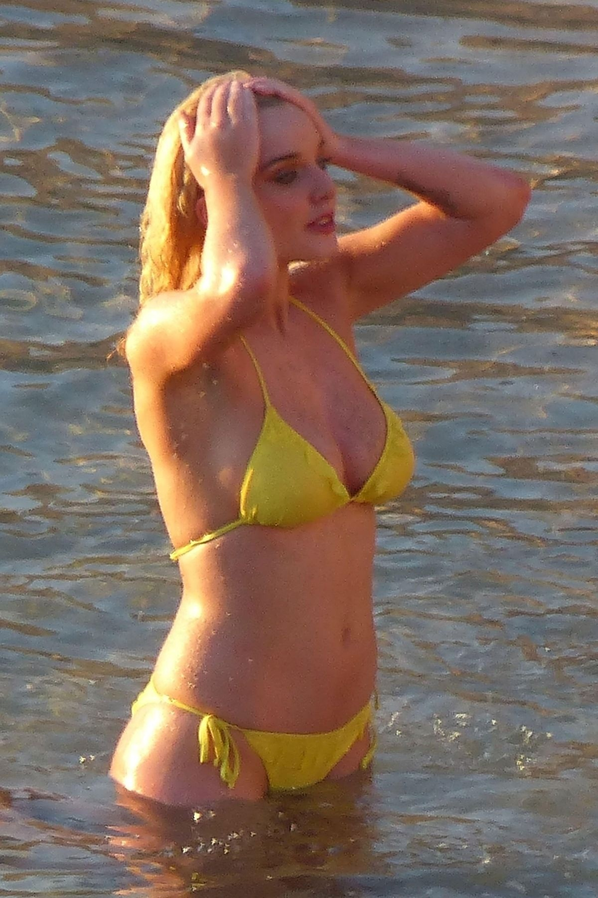 Helen Flanagan In Bikini At Photoshoot In Ibiza June The Sun