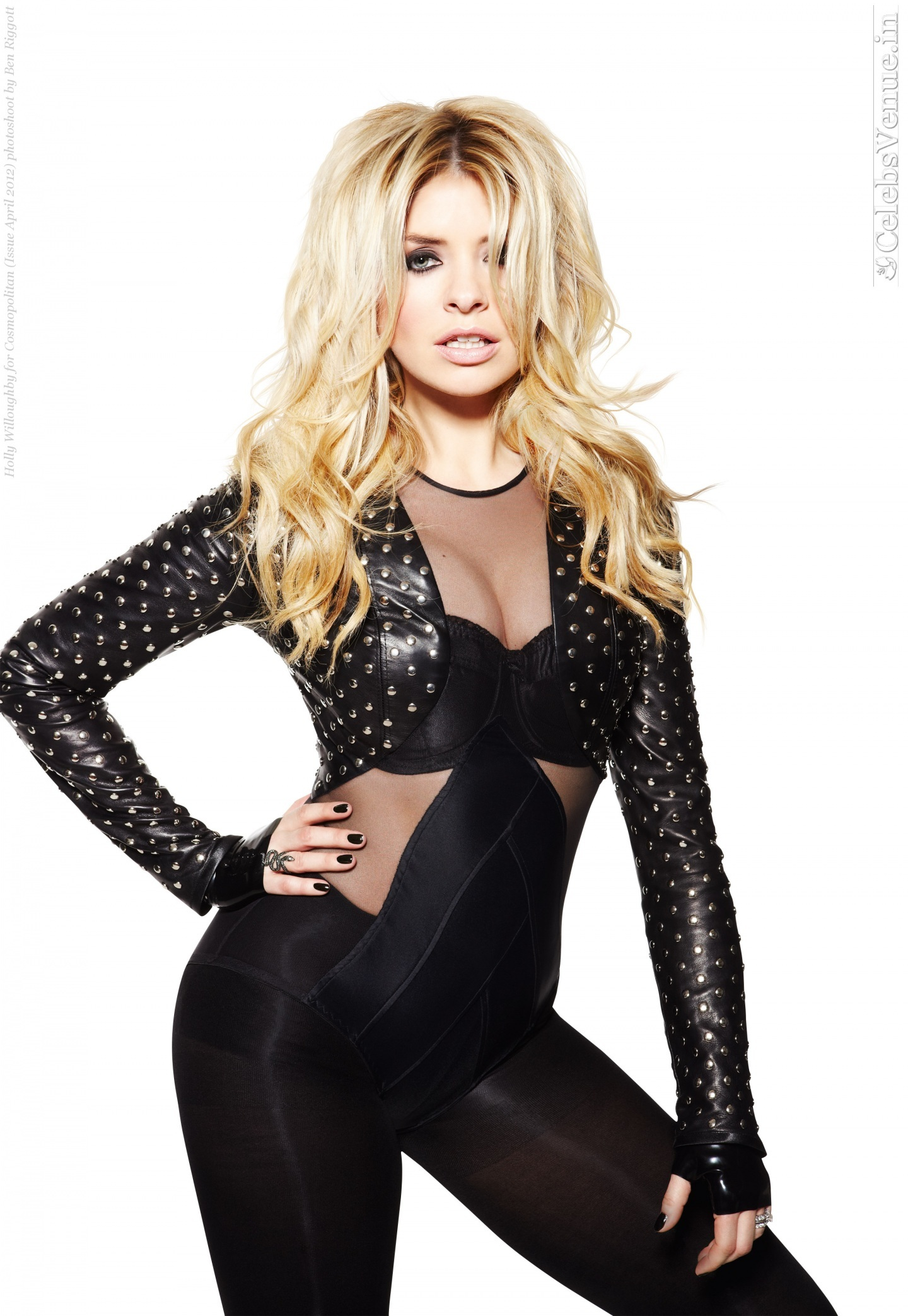 Holly Willoughby For Cosmopolitan Issue April Phot