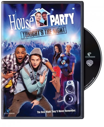 House Party Tonights The Night Movie Dvd Cover Movie