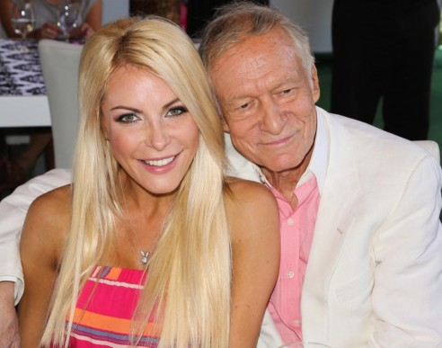 Hugh Hefner Crystal Harris Beverly Hills