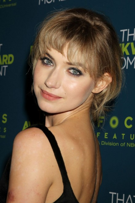 Imogen Poots At That Awkward Moment Premiere In New York That Awkward Moment