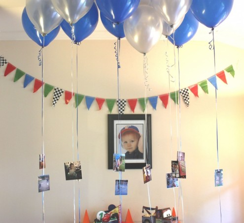 Hanging Binstagram Bpictures Bballoons Bparty Cake