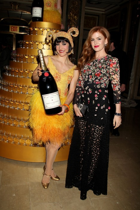 Isla Fisher And Moet Chandon Celebrate The Great Gatsby Great Gatsby