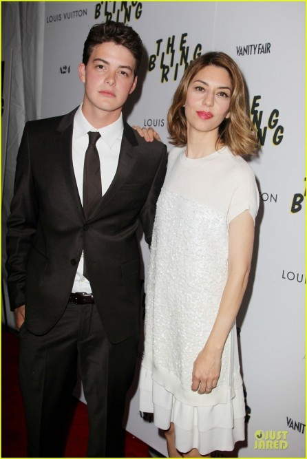 Celebrity Red Carpet Looks And Appearances Israel Broussard Director Sofia Coppola Screening Bling Ring