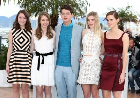 Emma Watson Israel Broussard Katie Chang And Claire Julien At Event Of The Bling Ring Large Picture Bling Ring