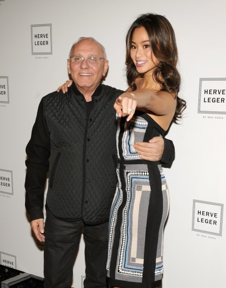Jamie Chung Fashion Show In Nyc Herve Leger
