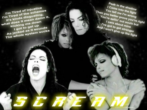 Michael And Janet Jackson Scream Evyke And Michael Jackson