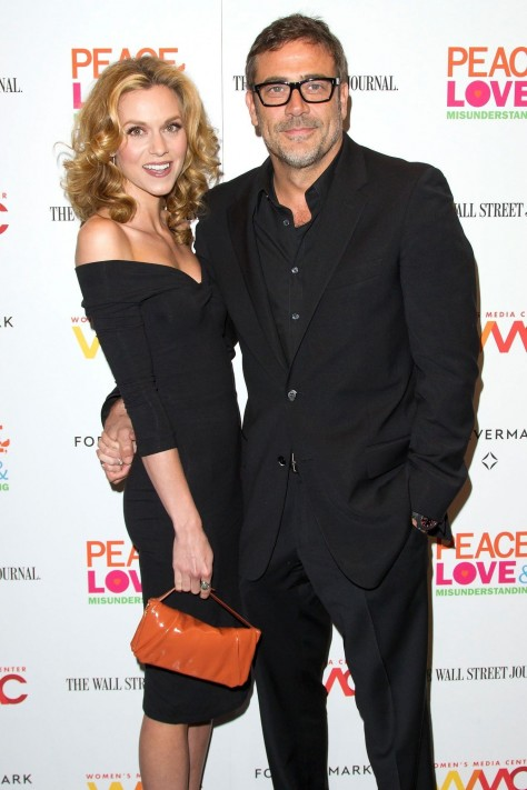 Jeffrey Dean Morgan And Hilarie Burton At Event Of Peace Love Misunderstanding Large Picture Young