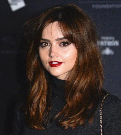 Jenna Louise Coleman At Isabella Blow Fashion Galore Exhibition In London