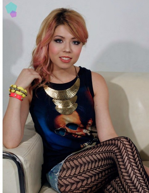 Jennette Mccurdy In Afterglow Magazine