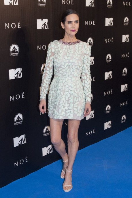 Jennifer Connelly At Noah Premiere In Madrid