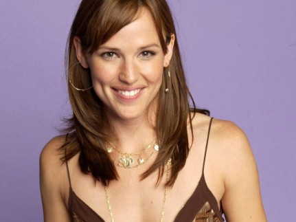 Smiley Jennifer Garner