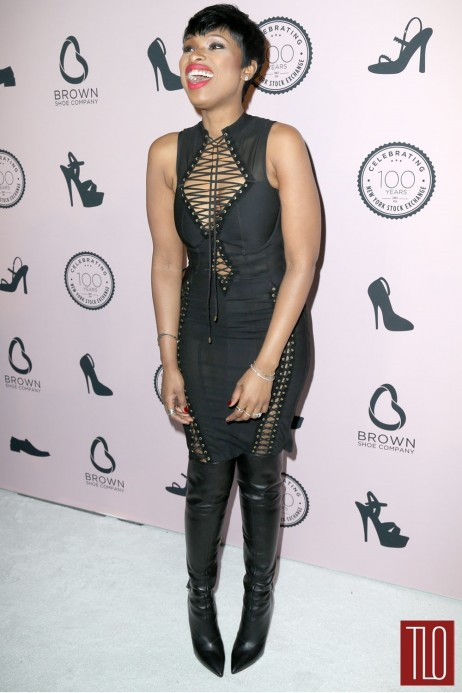 Jennifer Hudson Agent Provocateur Brown Shoe Event Tom Lorenzo Site Tlo Movies