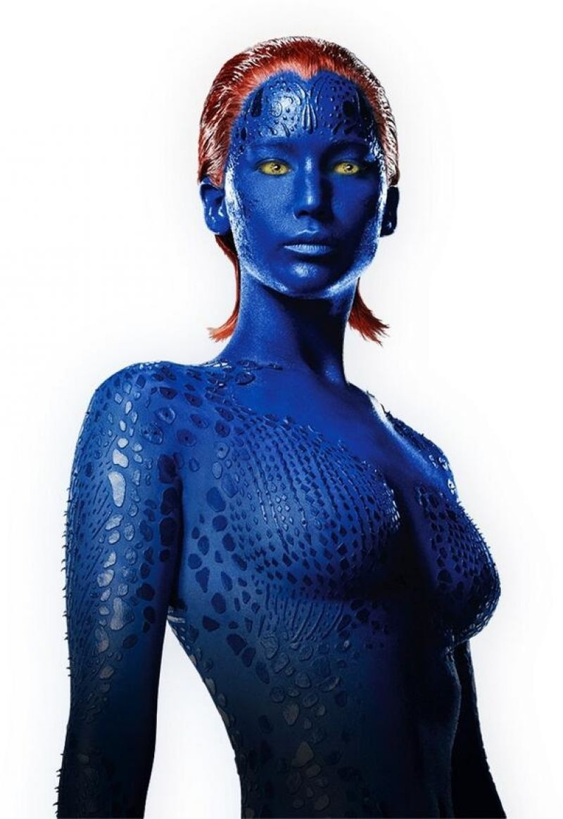 Jennifer Lawrence Men Days Of Future Past Promotional Photos Body