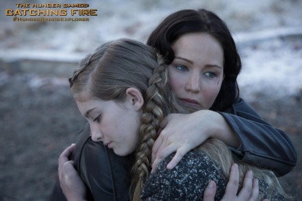 The Hunger Games Catching Fire Willow Shields Jennifer Lawrence Hunger Games