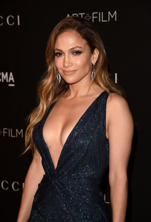 Jennifer Lopez At Lacma Art Film Gala In Los Angeles