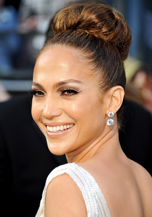 Jennifer Lopez Wedding Dress Hair Jennifer Lopez Hair