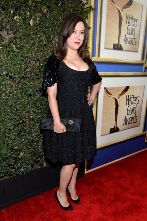 Jennifer Tilly At Writers Guild Awards In New York