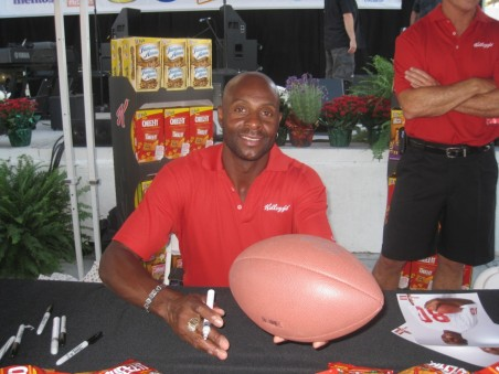 Jerry Rice Autograph Signing