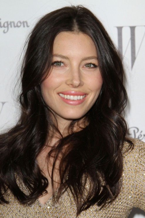 Jessica Biel At Magazines Th Annual Golden Globe Awards Celebration