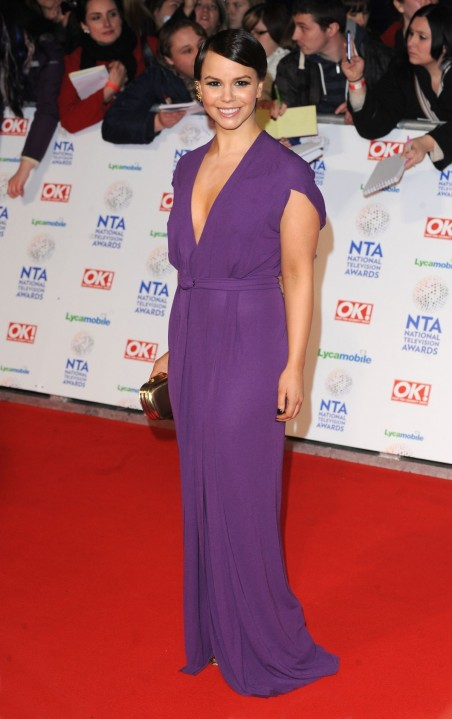 Jessica Fox At National Television Awards In London