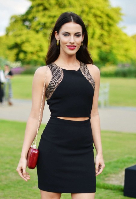 Jessica Lowndes At Fashion Rules Launch Party In London Fashion