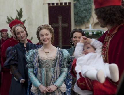 Joanne Whalley Holliday Grainger And Lotte Verbeek In The Borgias Large Picture