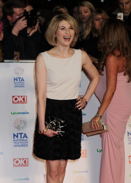 Jodie Whittaker At National Television Awards In London