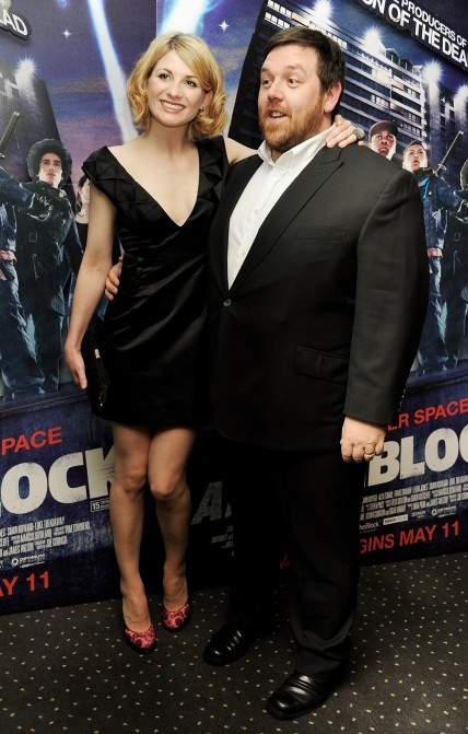 Nick Frost And Jodie Whittaker At Event Of Attack The Block Large Picture
