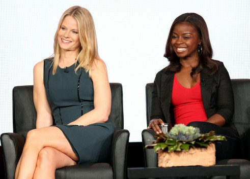 Joelle Carter And Erica Tazel In Justified Large Picture