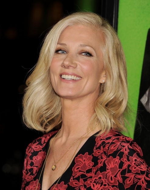 Joely Richardson At Vampire Academy Premiere In Los Angeles