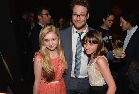 Seth Rogen Kelli King And Joey King In Venit Sf Acirc Rsitu Large Picture And Channing Tatum