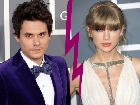 John Mayer Et Taylor Swift Aux Grammy Awards Los Angeles Le Fevrier And Taylor Swift