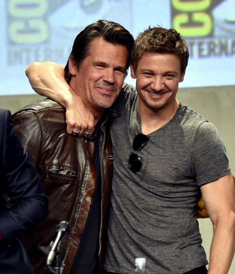 Josh Brolin And Jeremy Renner At Event Of Avengers Age Of Ultron