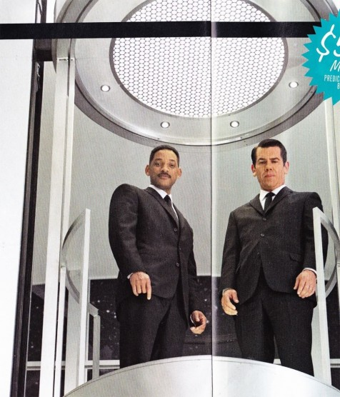 Josh Brolin And Will Smith In Men In Black Movie Magazine Scan Movies