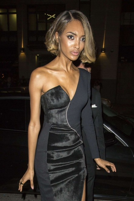 Jourdan Dunn Maybelline New York Party Lfw