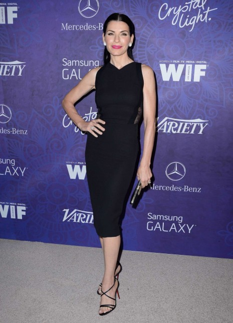 Julianna Margulies Variety And Women In Film Emmy Nominee Celebration Beach