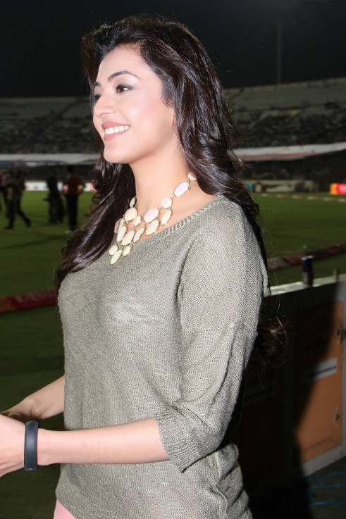 Kajal Aggarwal Latest Pics In Ccl Semifinals