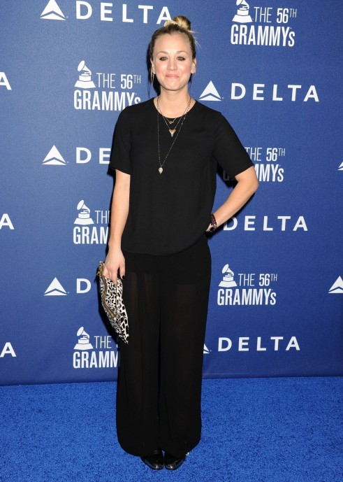 Kaley Cuoco At Delta Air Lines Grammy Weekend Reception In Los Angeles