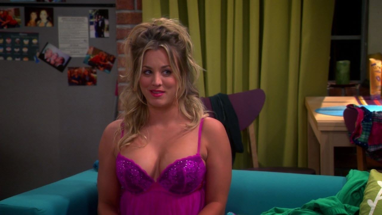 Kaley Cuoco Lingerie Sexy