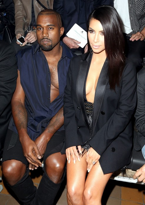 Kanye West Cleavage Zoom