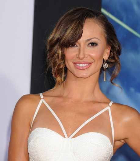 Karina Smirnoff Arrived To Premiere Of Marvel Guardians Of The Galaxy