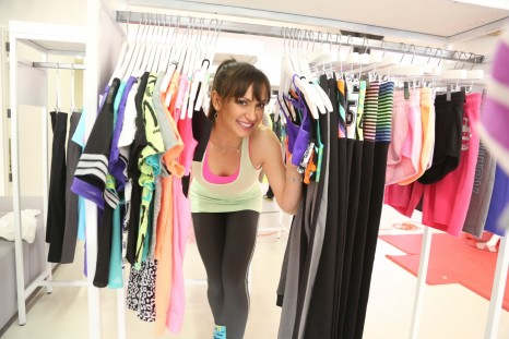 Karina Smirnoff Shopping With Citystreet Activewear At Jcpenneys New Year New You Fitness Event In Soho