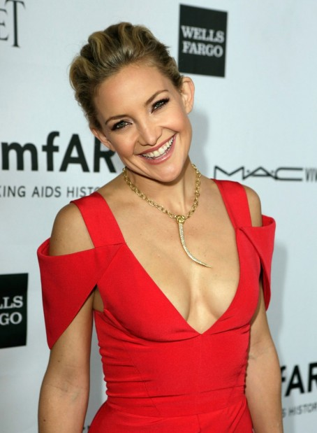 Kate Hudson At The Rd Annual Amfar Inspiration Gala In Los Angeles