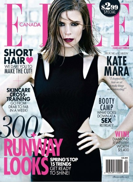 Kate Mara In Elle Magazine Canada February Issue