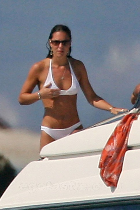 Kate Middleton White Bikini Sexy